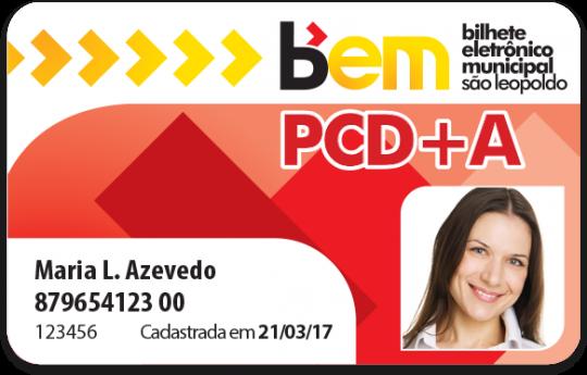Cartão PCD+A