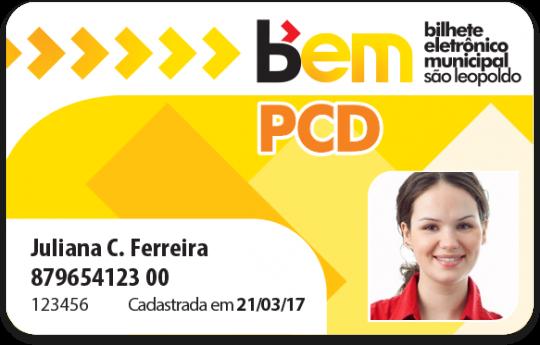 Cartão PCD