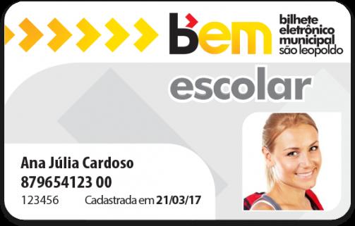 cartão BEM SL PCD