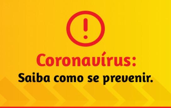Coronavírus: saiba como se prevenir.